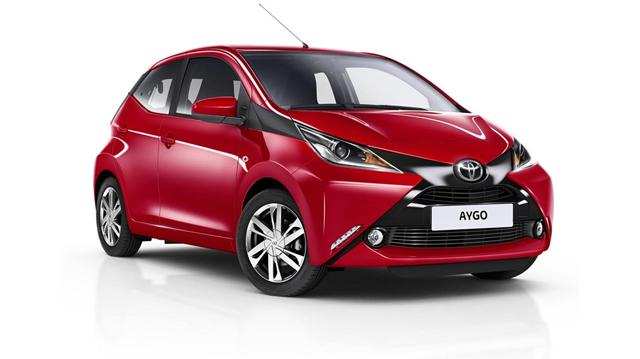 Toyota Aygo Rossa